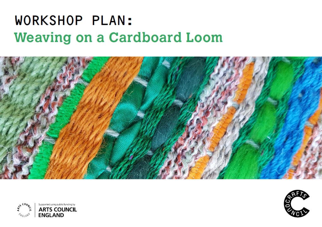 Workshop Plan Weaving on Cardboard Loom