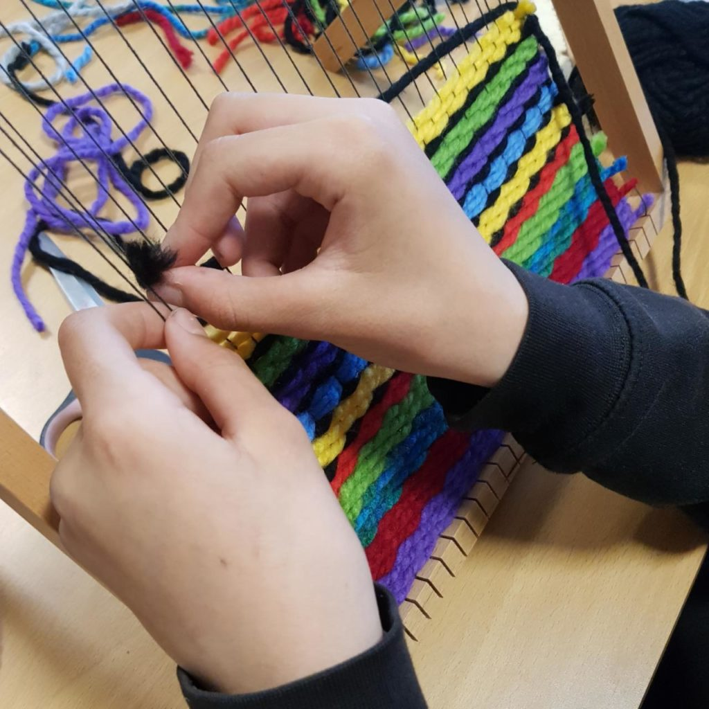 Weaving at Secondary School