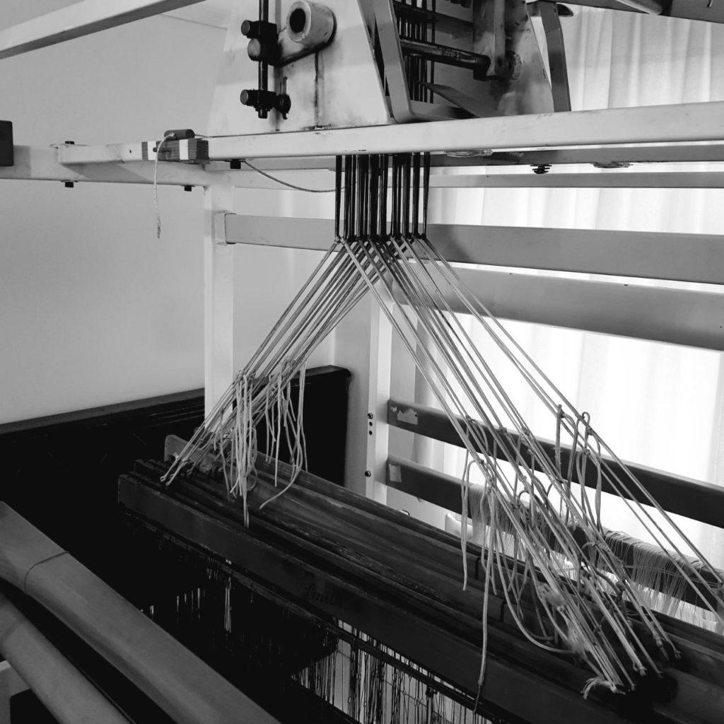 Large floor loom