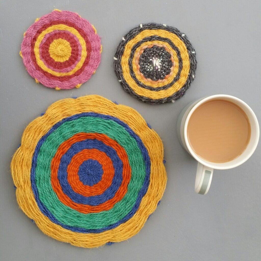 Hand Woven Coasters - Agnis Smallwood